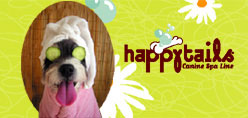 happytails Canine Spa Line