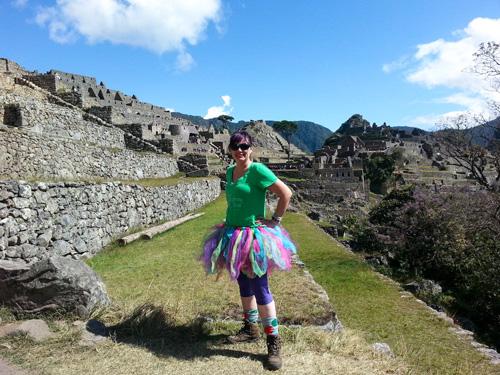 Me at Macchu Picchu in Peru!