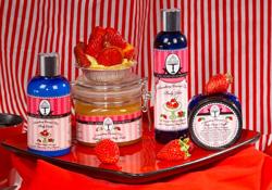 Strawberry Custard Tart body products