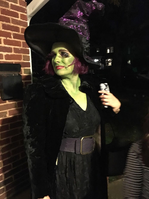 My witch costume this year!