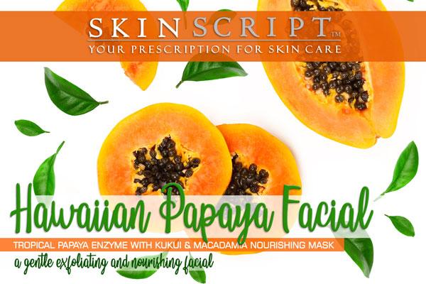Hawaiian Papaya Facial