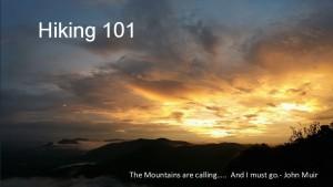 Hiking 101 1