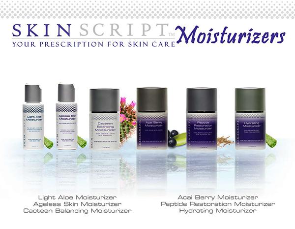 Skin Script Moisturizers