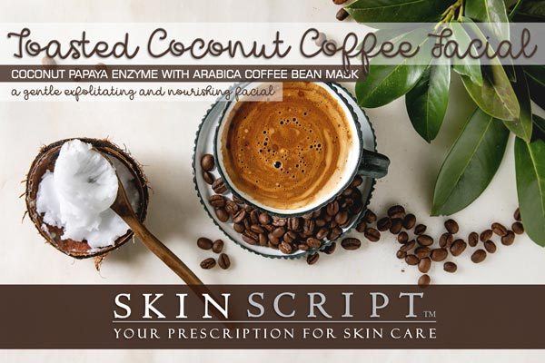 Toasted Coconut Coffee Facial
