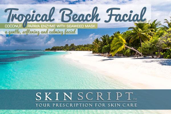 Tropical Beach Facial
