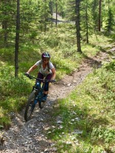 Amber Mountain Biking