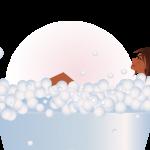 Enjoy a refreshing bath soak