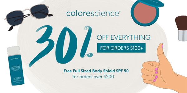 Colorescience Friends and Family Event