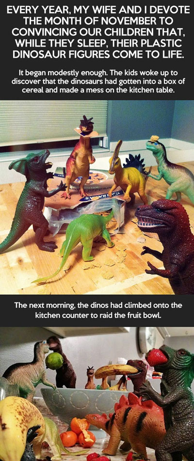 Dinosaurs come to life for kids