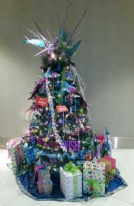 My tree at the Festival of Trees