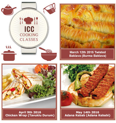 Turkish Cooking Classes at the Istanbul Cultural Center