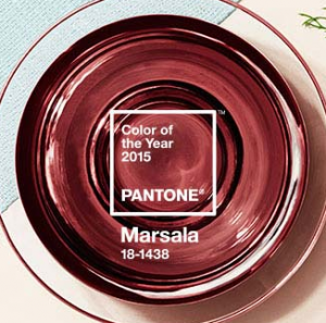 Marsala the 2015 Pantone Color of the Year