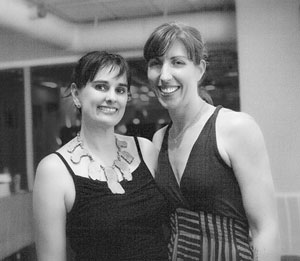 Nicole and Liz from Greenville Yoga