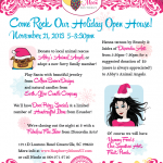 Come Rock Our Holiday Open House