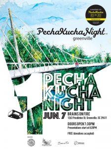 Pecha Kucha is back in Greenville