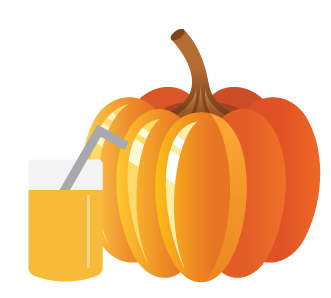 Recipe for a delicious pumpkin smoothie