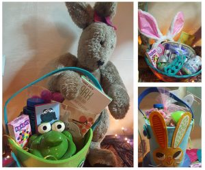 We've got lots of Easter baskets