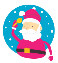 Be a great Santa this year by shopping at Raspberry Moon!