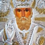 Image of Saint Nicholas in a Greek Orthodox Church