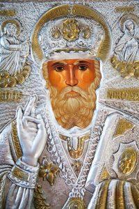 Image of Saint Nicholas in a Greek Orthodox Church
